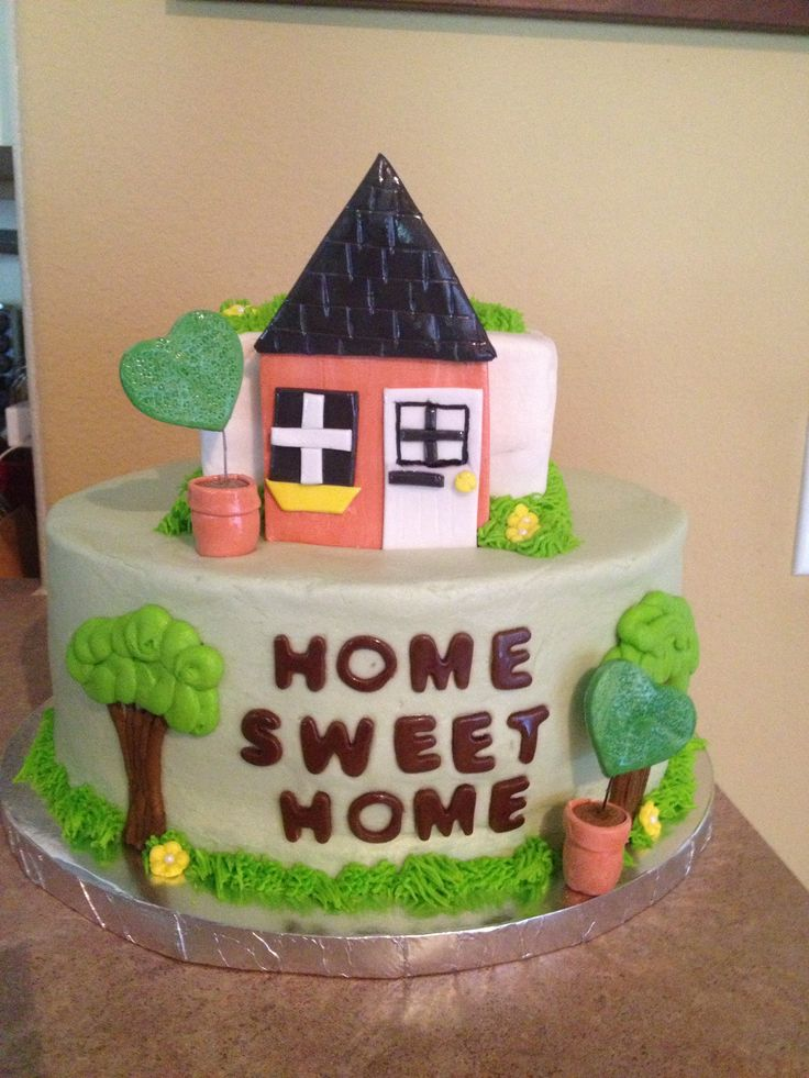 Housewarming cake my sweet creations pinterest for Decoration cremaillere