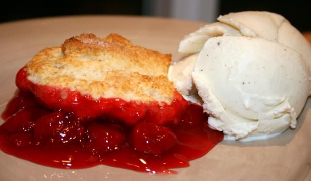 Quick Cherry Cobbler. Photo by **Tinkerbell**