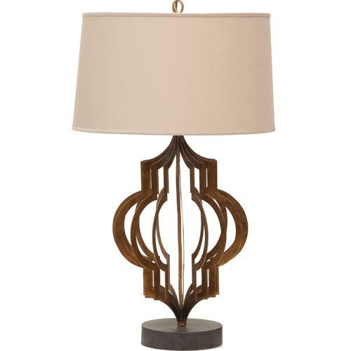 Iron Pattern Maker's Table Lamp $259