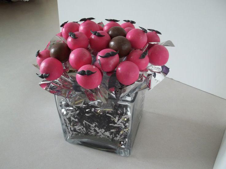 mustache cake pops | Tiffany's Sweet Creations | Pinterest