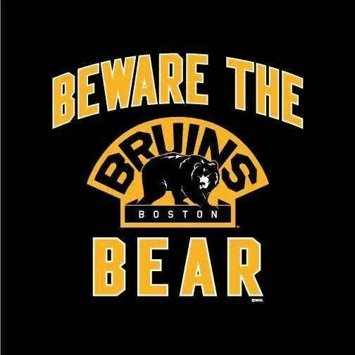 Beware the Bear | boston bruins | Pinterest