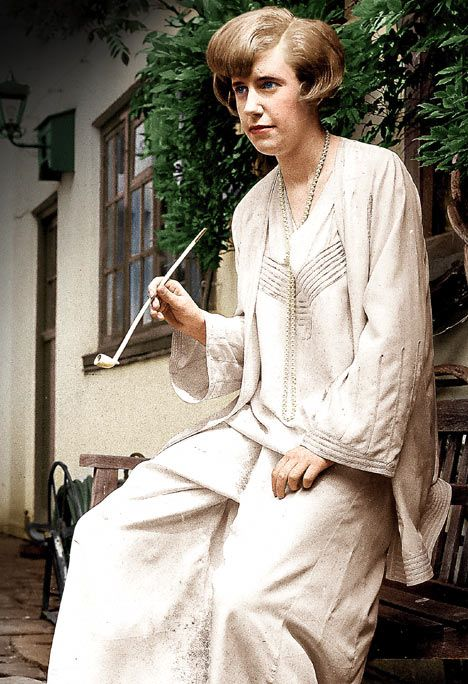 Clarissa Dickson Wright in the Seventies