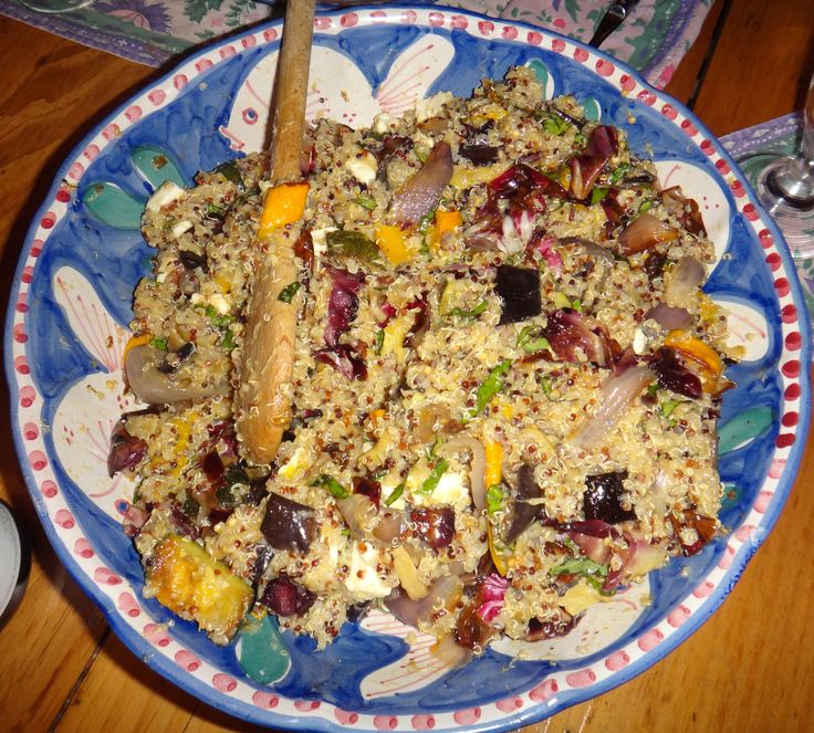 QUINOA WITH ROASTED VEGGIES | Cooking | Pinterest