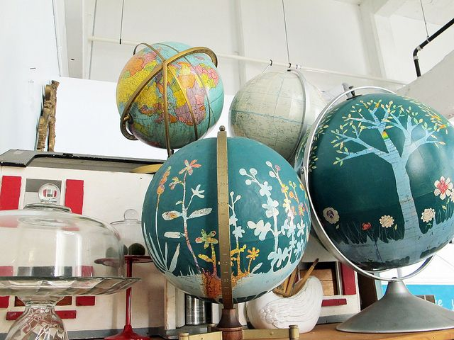 globe art