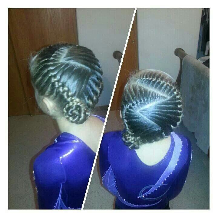 cute hairstyles 2017 : ... Cute Gymnastics Hairstyles For Short Hair with Gymnastics Compe Ion