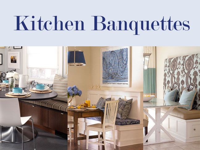 Banquette seating for your kitchen - Diy kitchen banquette ...