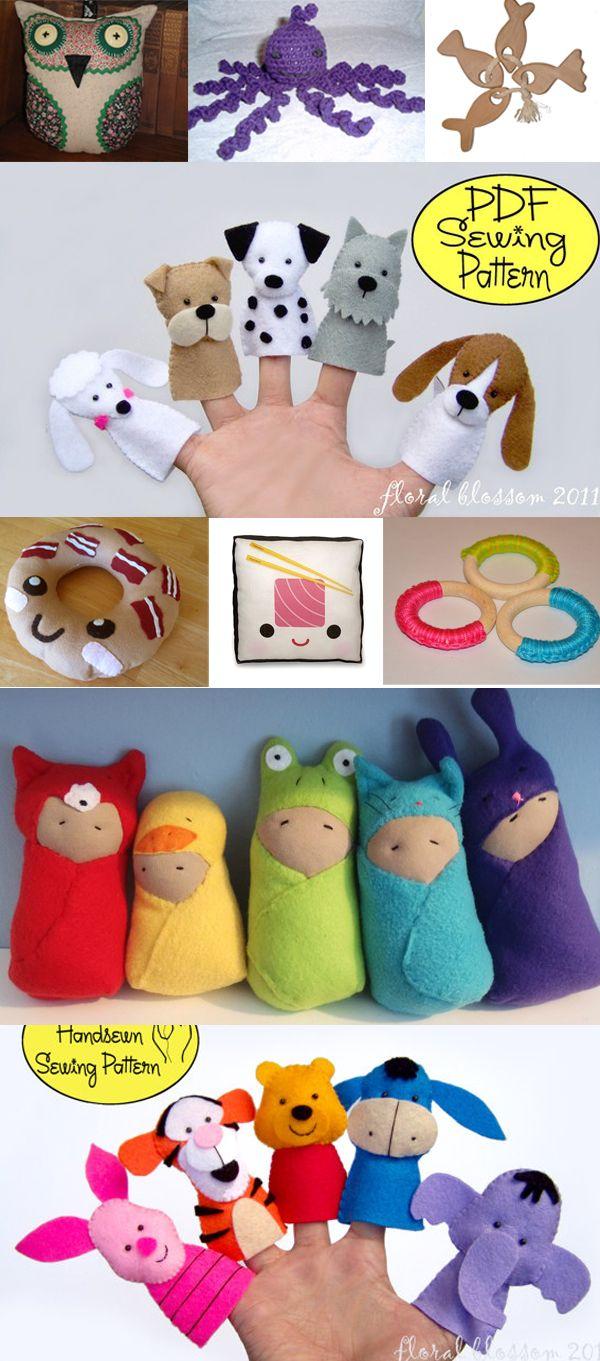 Интересные игрушки для маленьких детей своими руками