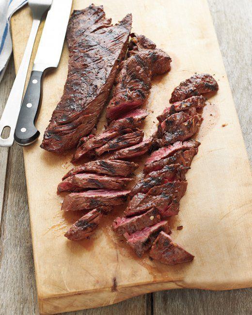 Grilled Marinated Hanger Steak http://www.marthastewart.com/901659 ...