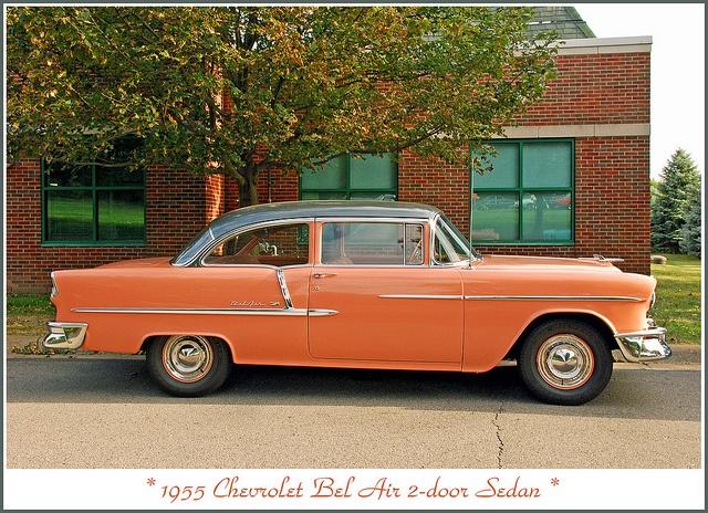 1955 chevrolet bel air two door sedan 39 55 chevy pinterest for 1955 chevy 2 door sedan