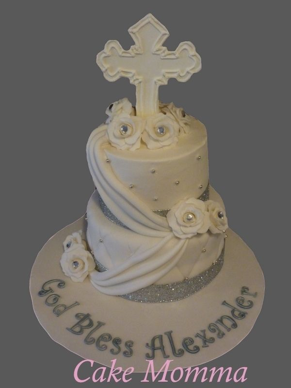 Cake Designs For First Communion : first communion cake idea Party Planning Pinterest
