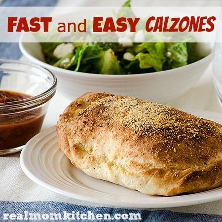 Slim-down ricotta calzone