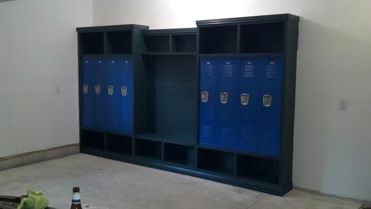 Garage lockers for the home girl pinterest for House lockers
