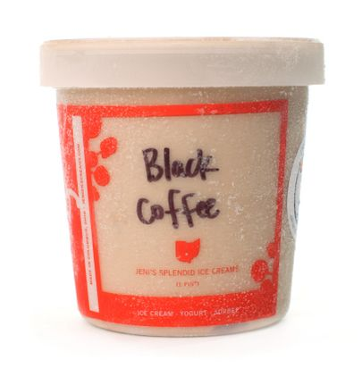 Label Ice Cream: Black Coffee Ice Cream, Custom Flavor Ice Cream ...