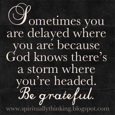 ...in God's Hands
