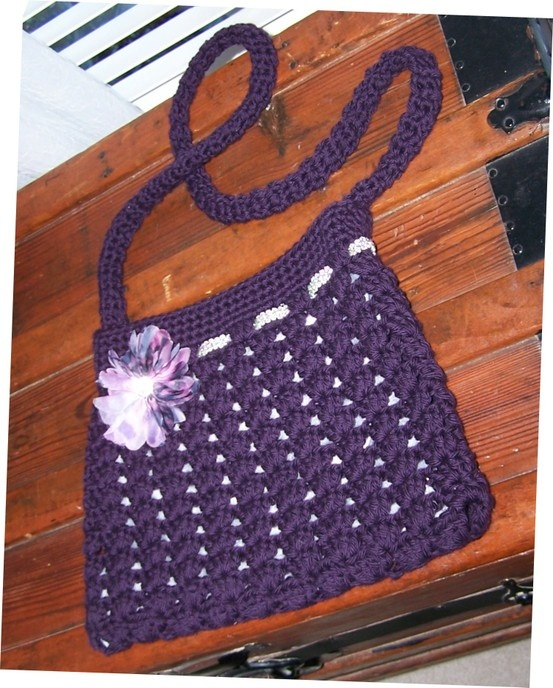 Crochet Hobo Bag Pattern Free : crochet hobo bag...free pattern from Ravelry...easy ...