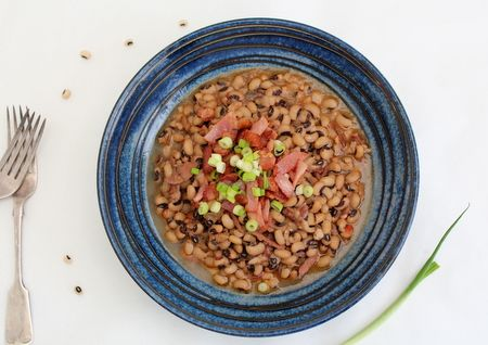 Lucky Hoppin' John (Black-eyed Bean Stew) @ Recipes From A Pantry