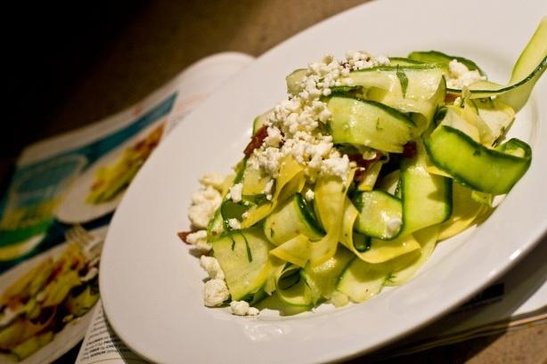 Shaved Summer Squash Salad | Foodie | Pinterest