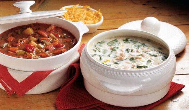 Seven Vegetable Soup | Yum | Pinterest