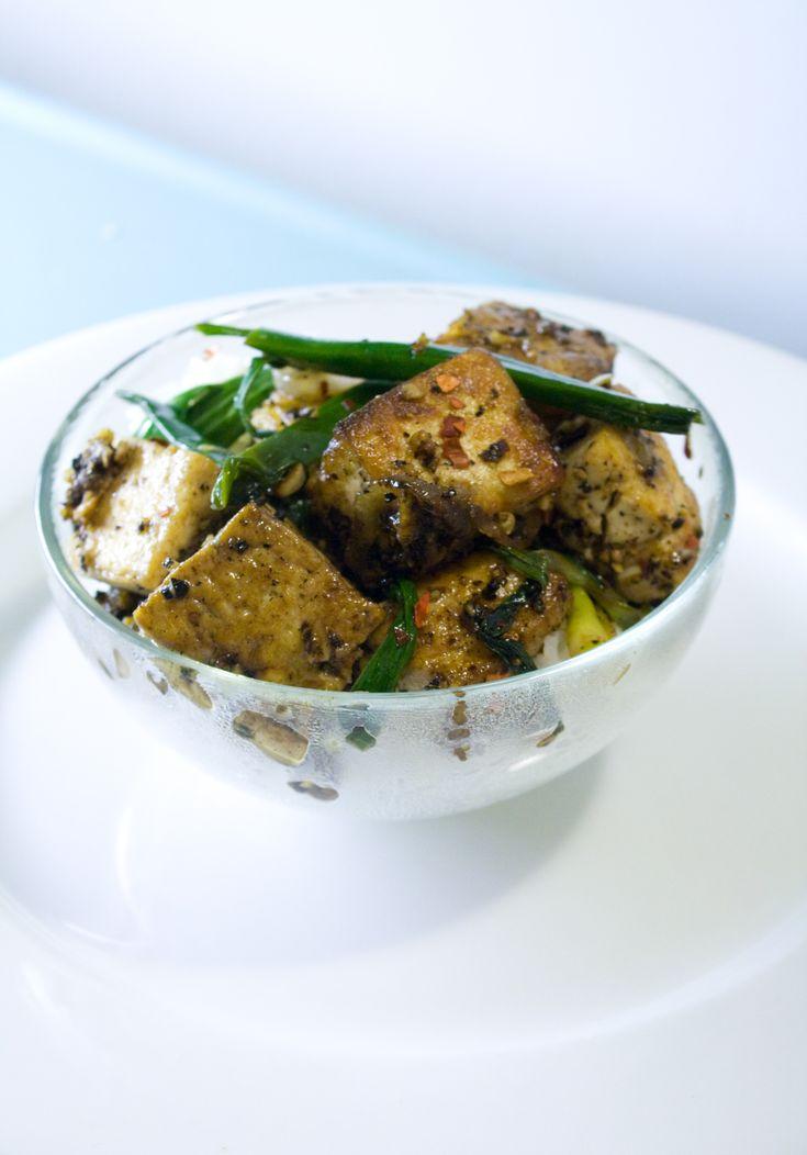 Asian style Black Pepper Tofu | Tofu Recipes | Pinterest