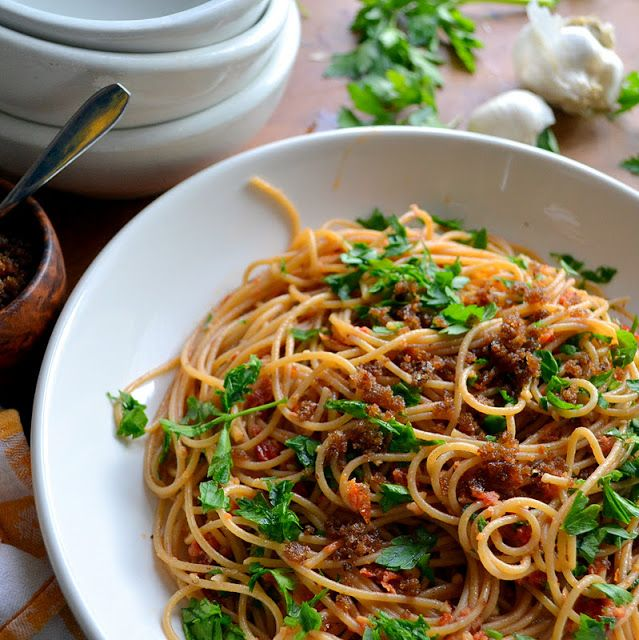 Pasta with Sun Dried Tomato and Almond Pesto - The View from Great ...