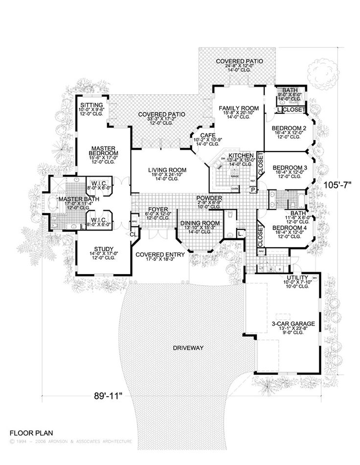 Master sitting room home floor plans pinterest Master bedroom with sitting area floor plans