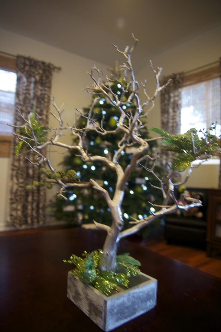 Decorated manzanita tree christmas 2011 event decor ideas pinter