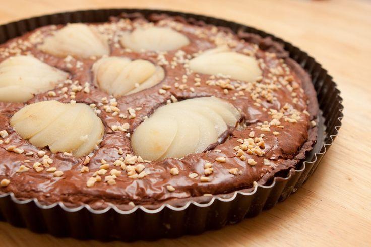 Tarte Chocolat Poires