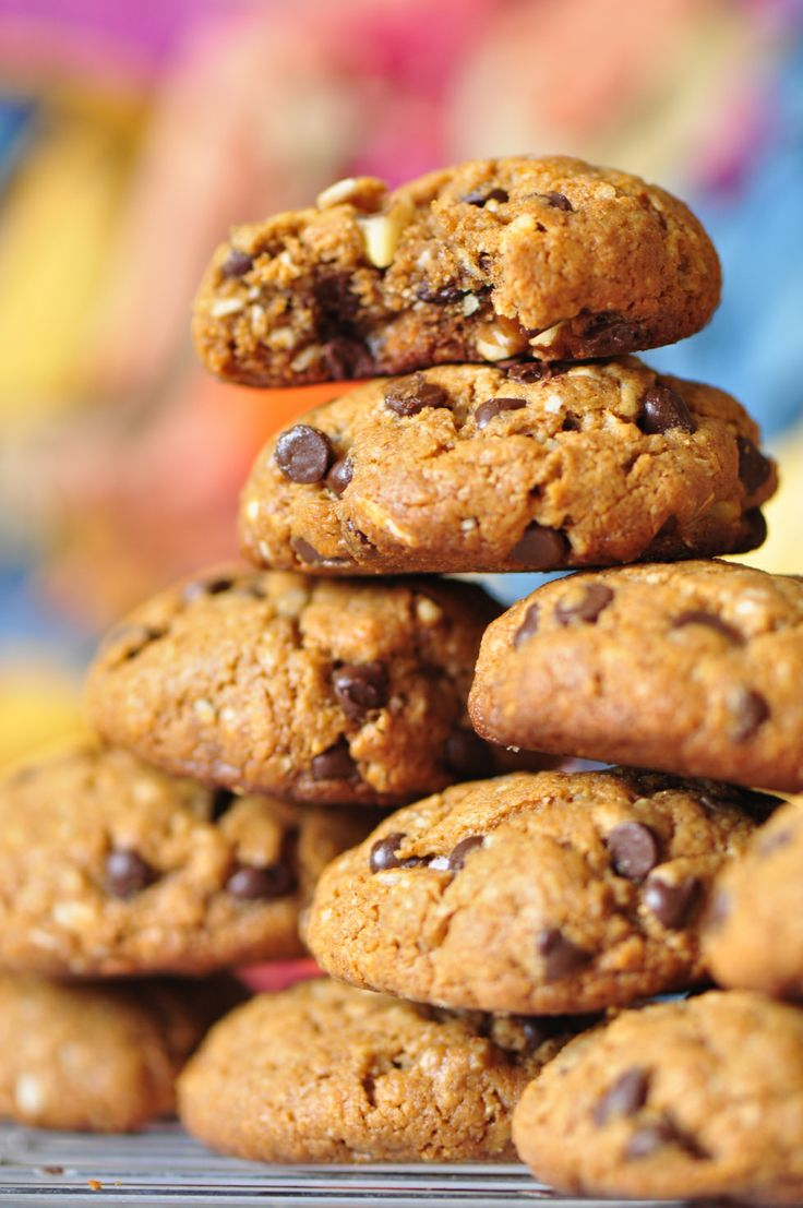 Almond Butter Chocolate Cookies | Cookie Recipes | Pinterest