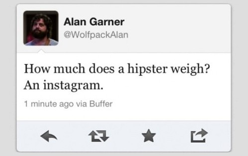 How Much Does a Hipster Weigh