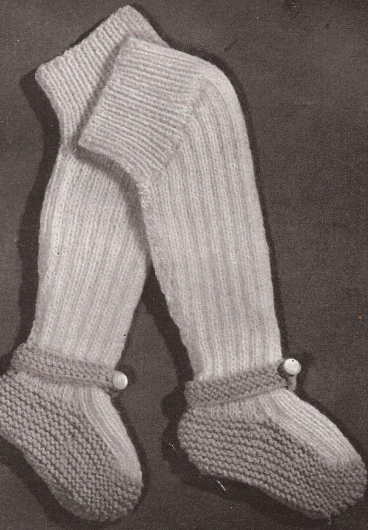 Vintage Baby Leggings Knitting Pattern Vintage Baby & Children Patt?