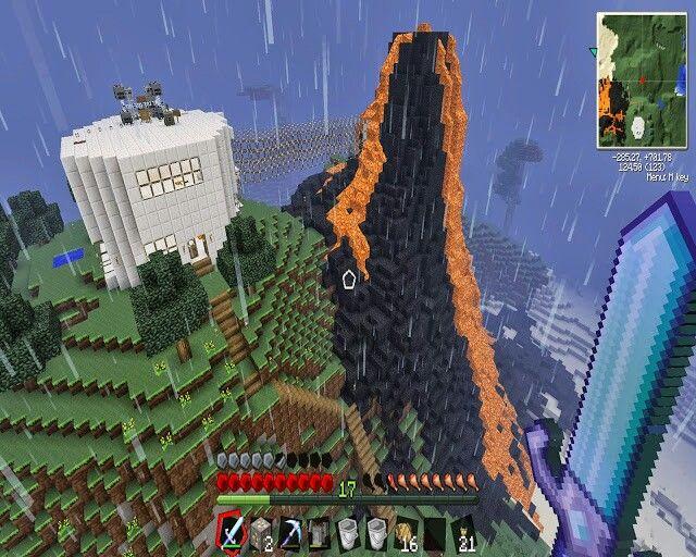 Minecraft Evil Lair