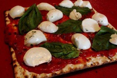 Margarita Matzah Pizza | Recipe