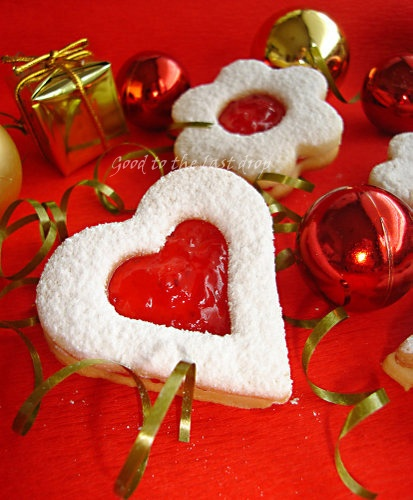 Linzer cookie with cherry jam | Good to the last drop - recipes from ...