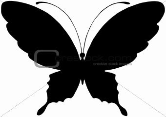 butterfly silhouette
