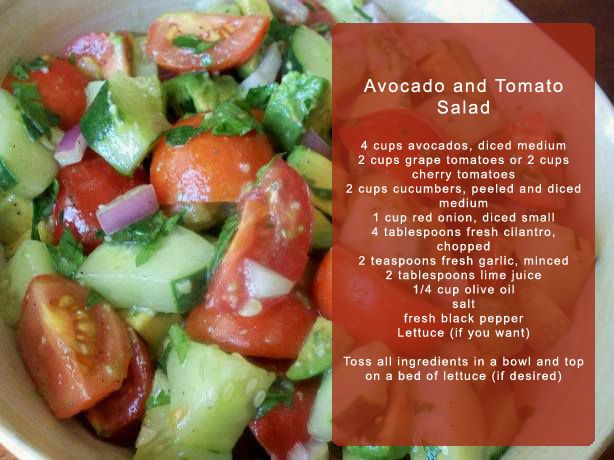 ... vinaigrette avocado and corn salad with creamy avocado dressing tomato