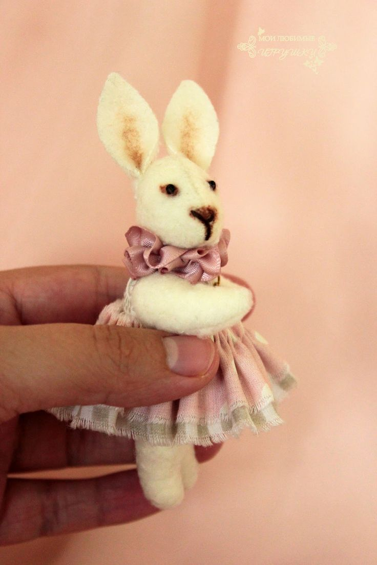 Мои любимые игрушки. Авторские текстильные куклы Анны Балябиной: Ваниль