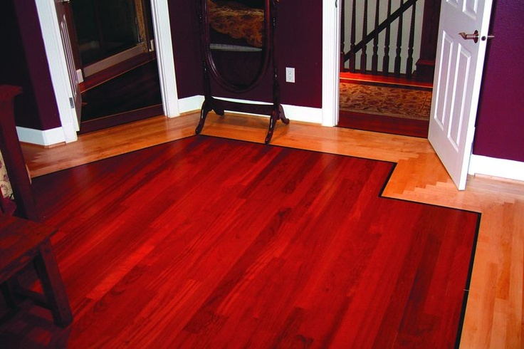 Blair & Son Floor Co. TwoToned Hardwood Flooring Project #  736 x 490