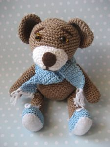 Free Teddy Bear Crochet Patterns on Pinterest | 50 Pins