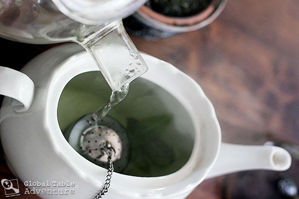 Global Table Adventure | Recipe: North African Sage n' Green Tea