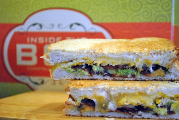 Bacon Guacamole Grilled Cheese - Buttery grilled sourdough bread ...