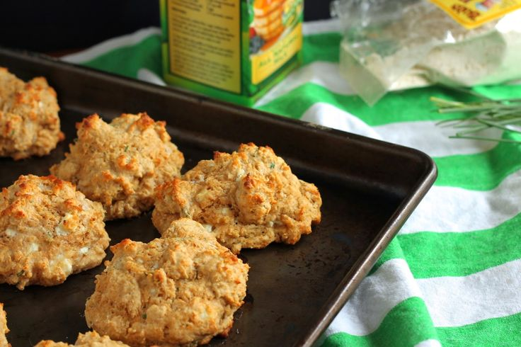 Goat Cheese and Chive Biscuits-Guest Post with Eat Your Heart Out