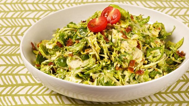 Shredded Brussels Sprout Salad | Food to try | Pinterest