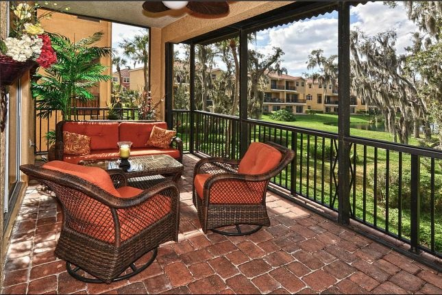 Tropical Lanai Florida Palmetto Landscaping And