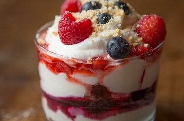 Mixed Berry Fool — Punchfork | Trifles and Layered Desserts ...