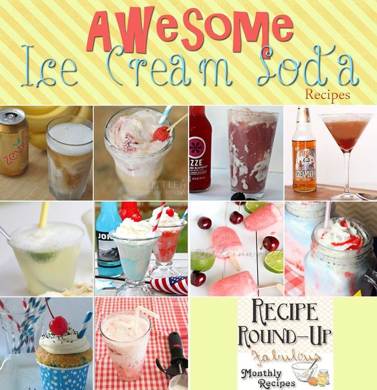 Cherry Limeade Ice Cream Soda Pops   Recipe