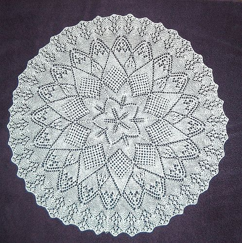 Free Knitting Pattern Lace Doily : moms doily by somhill Free knit pattern Craft Ideas ...