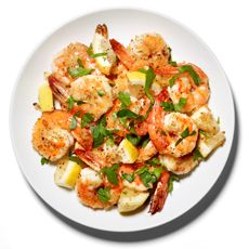 Lots of easy Shrimp recipes by Mark Bittman (sautee, roast, fry, broil).
