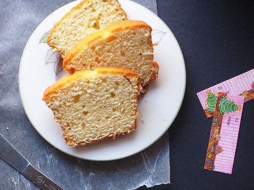 Eggnog Pound Cake with Crystal Rum Glaaaaaaze