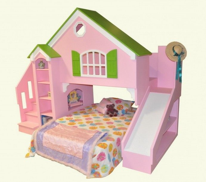 Dollhouse Bunk Bed Plans that are so CUTE!!