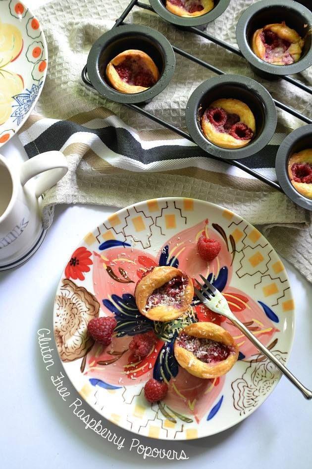 Gluten Free Raspberry Popovers | Mastocytosis | Pinterest